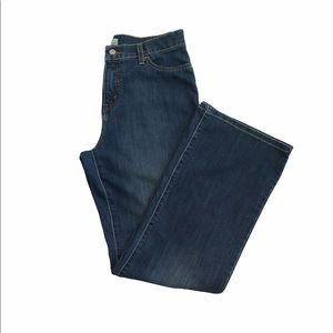 Levi's perfectly slimming jeans beaded size 12
